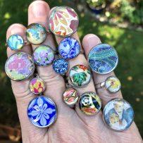 Vintage Tin Rings