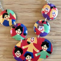 It's a Small World -Necklace