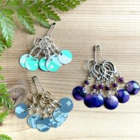 Vintage Tin Stitch Markers for Knitting or Crochet